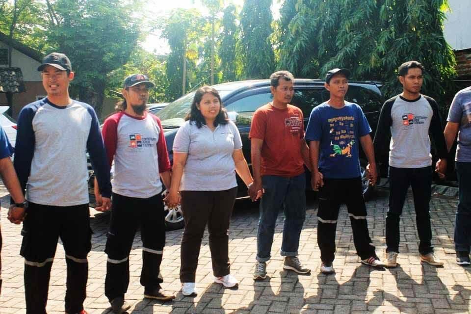 Outbound PT. Ecco Indonesia
