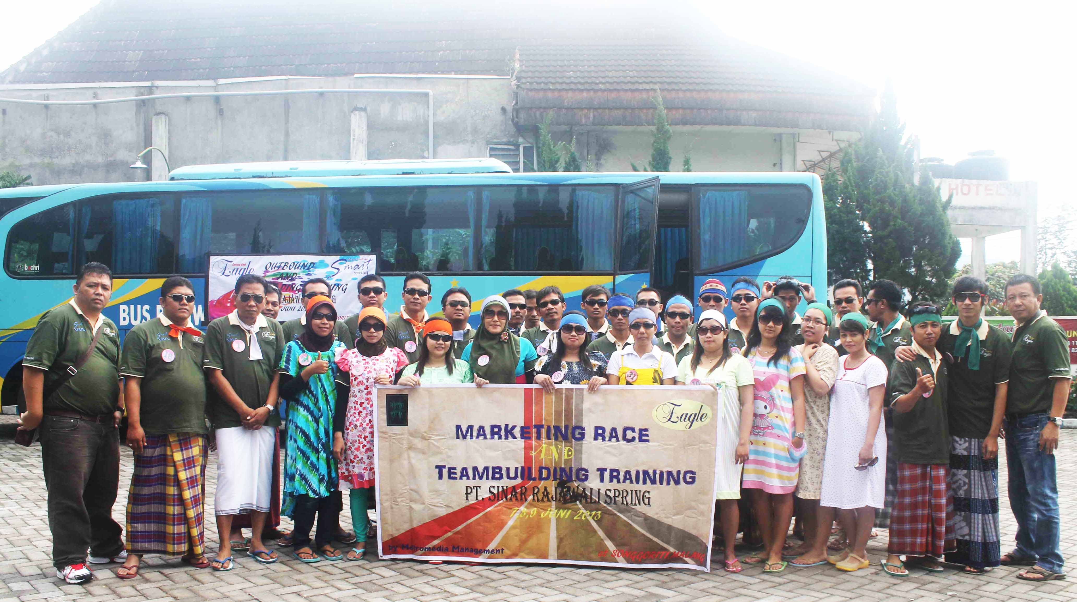 Outbound PT Sinar Rajawali Spring